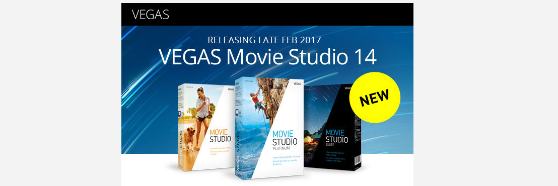 Heb jij em al, de nieuwe VEGAS Movie Studio 14